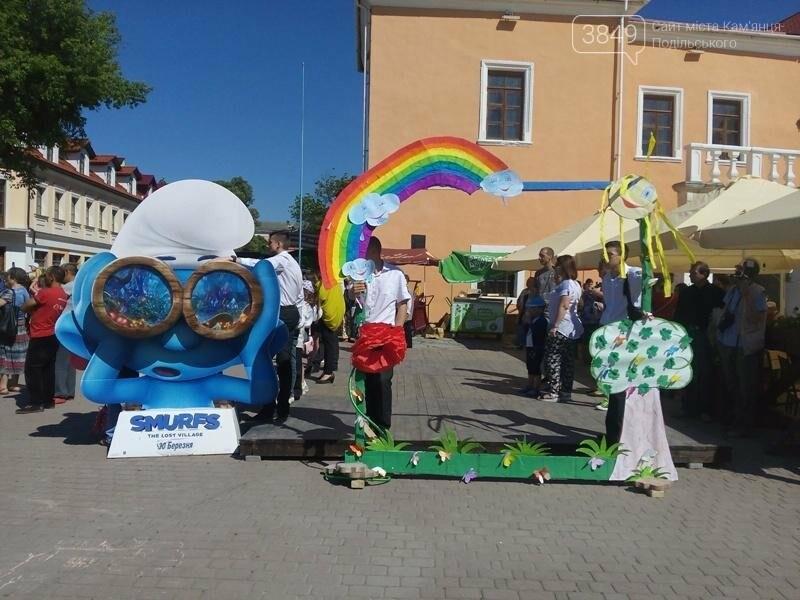 День захисту дітей. Забави на площі Польський ринок, фото-1