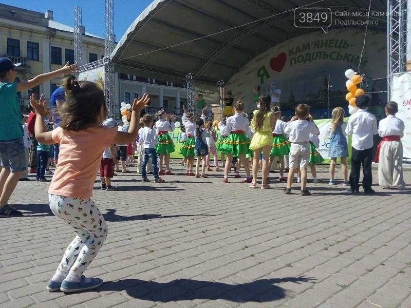 День захисту дітей. Забави на площі Польський ринок, фото-3