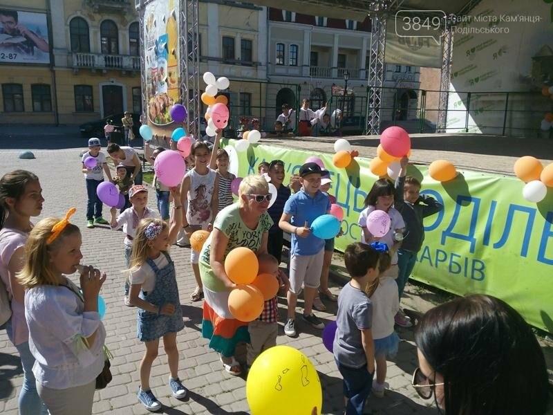 День захисту дітей. Забави на площі Польський ринок, фото-9
