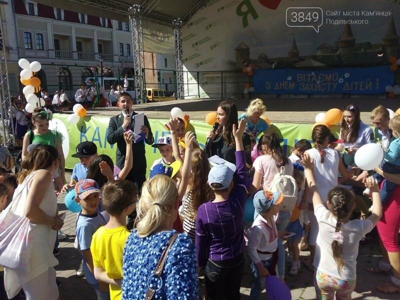 День захисту дітей. Забави на площі Польський ринок, фото-11