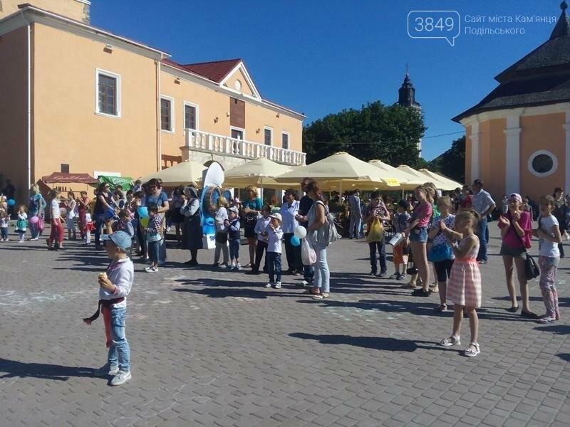День захисту дітей. Забави на площі Польський ринок, фото-12