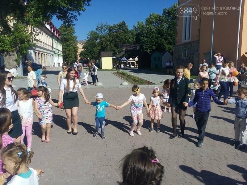 День захисту дітей. Забави на площі Польський ринок, фото-13