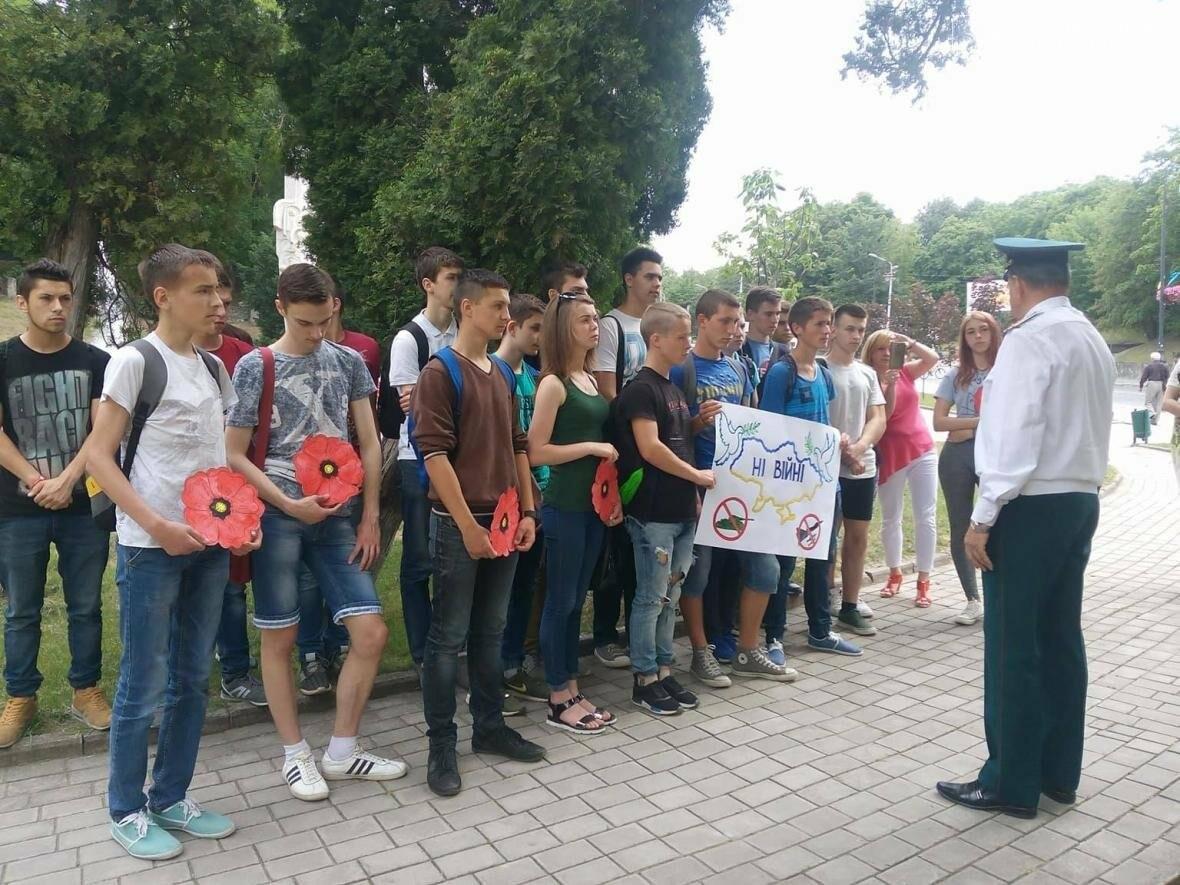 Флешмоб до Дня скорботи і вшанування пам`яті жертв Великої Вітчизняної війни в Україні, фото-1