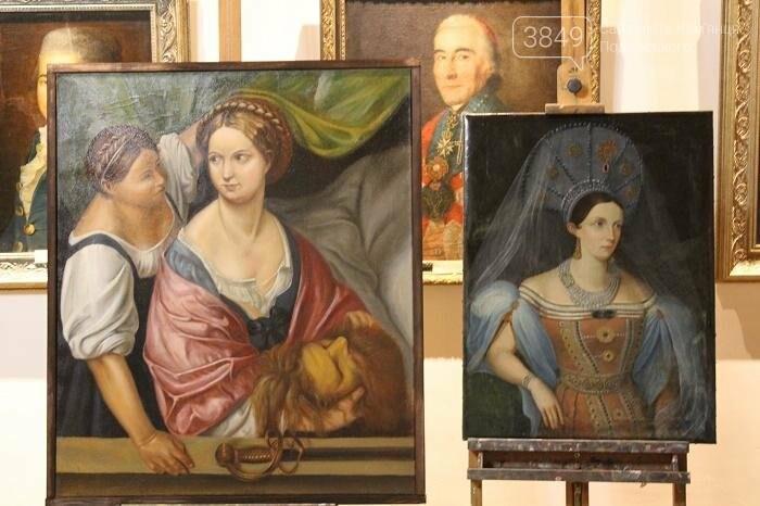 Студенти представили реставровані шедеври 18-19 століть , фото-3