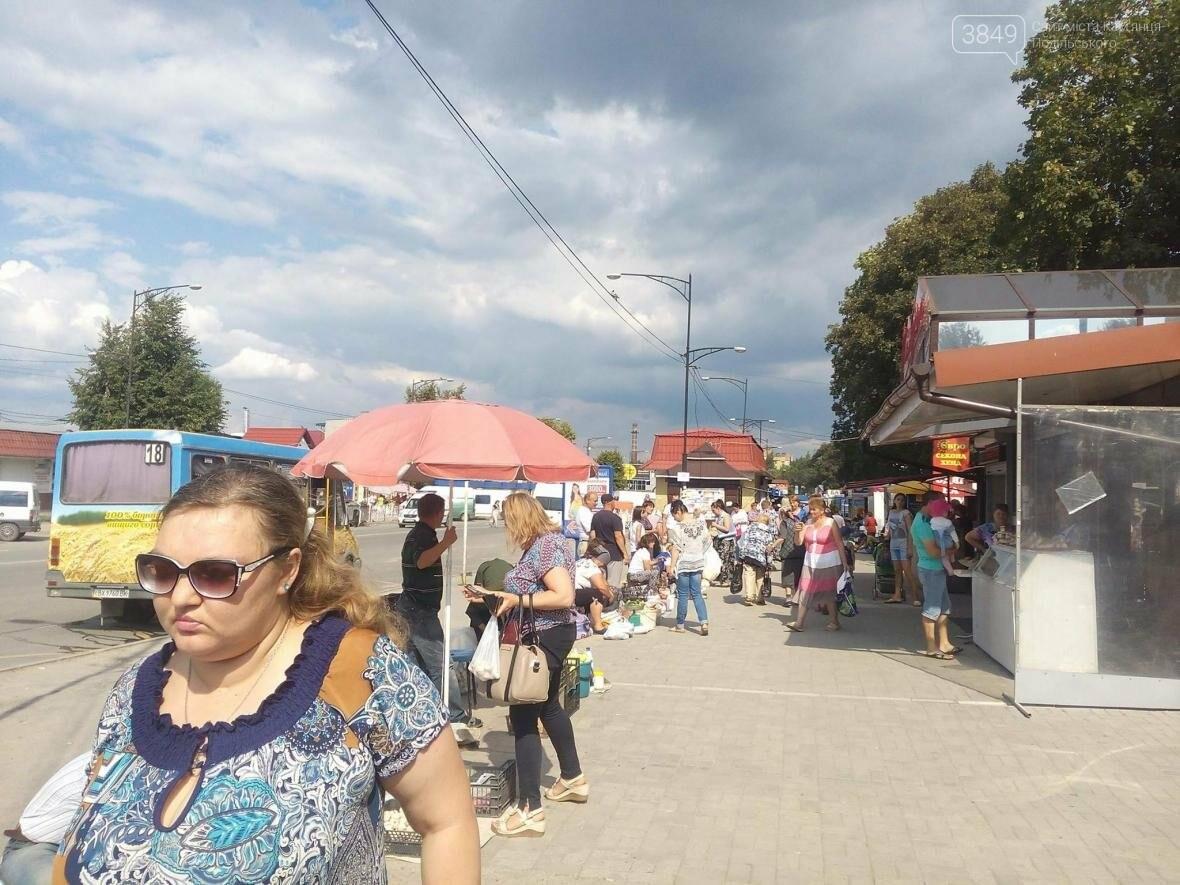 На вулиці Князів Коріатовичів встановили таблички-попередження про штраф за торгівлю, фото-2