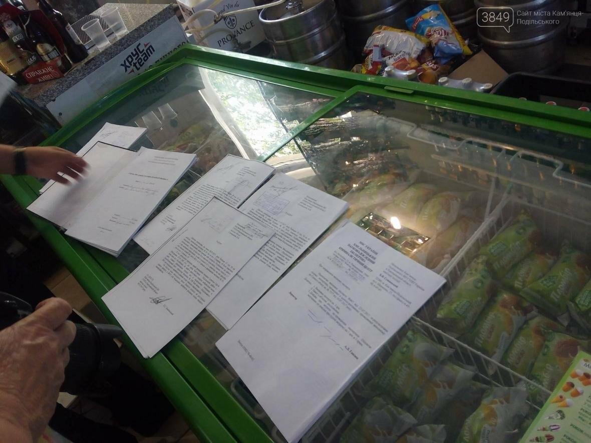 Незаконний продаж алкоголю. У Кам`янці оштрафували магазин, фото-3