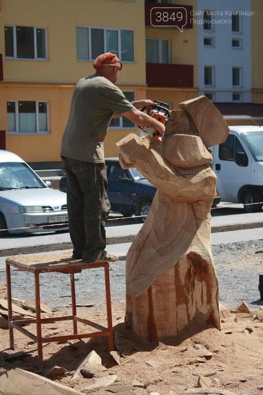 """Фестиваль """"ПОDІЛЛЯ WOODCRAFT"""" продовжується. Учасники працюють над скульптурами, фото-7"""