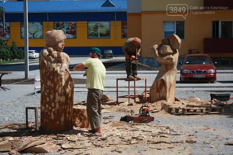 """Фестиваль """"ПОDІЛЛЯ WOODCRAFT"""" продовжується. Учасники працюють над скульптурами, фото-14"""
