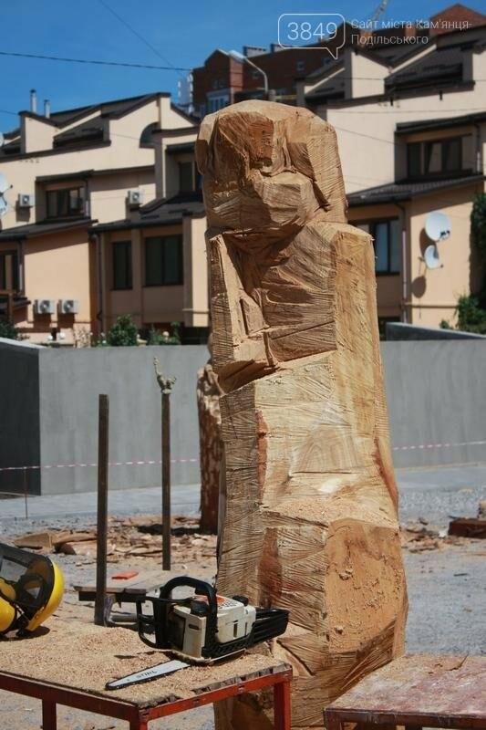 """Фестиваль """"ПОDІЛЛЯ WOODCRAFT"""" продовжується. Учасники працюють над скульптурами, фото-9"""