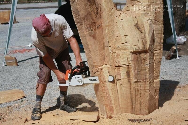 """Фестиваль """"ПОDІЛЛЯ WOODCRAFT"""" продовжується. Учасники працюють над скульптурами, фото-19"""
