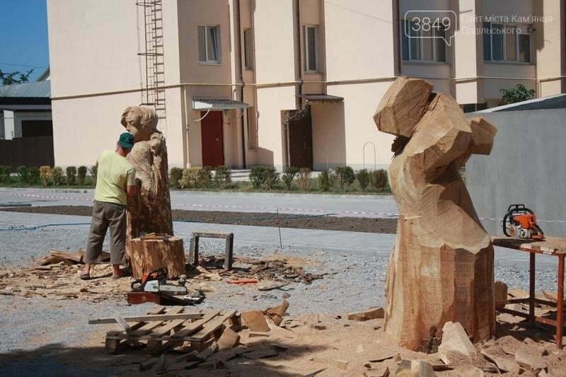 """Фестиваль """"ПОDІЛЛЯ WOODCRAFT"""" продовжується. Учасники працюють над скульптурами, фото-10"""