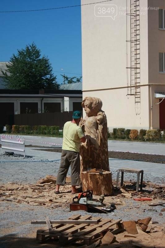 """Фестиваль """"ПОDІЛЛЯ WOODCRAFT"""" продовжується. Учасники працюють над скульптурами, фото-11"""