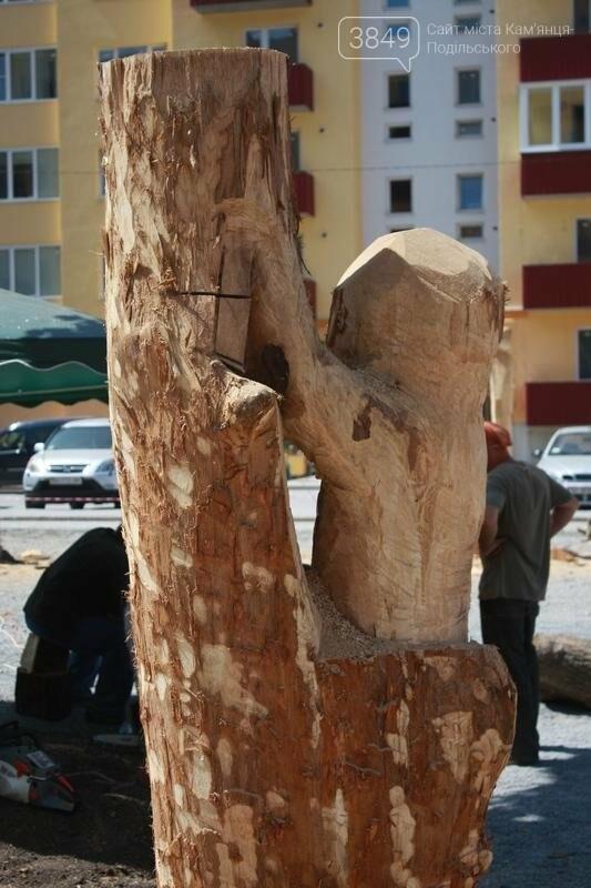 """Фестиваль """"ПОDІЛЛЯ WOODCRAFT"""" продовжується. Учасники працюють над скульптурами, фото-6"""