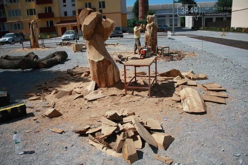"""Фестиваль """"ПОDІЛЛЯ WOODCRAFT"""" продовжується. Учасники працюють над скульптурами, фото-20"""