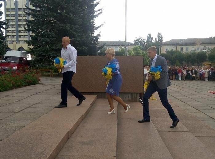 У Кам`янці відбулось урочисте святкування Дня прапора України, фото-1