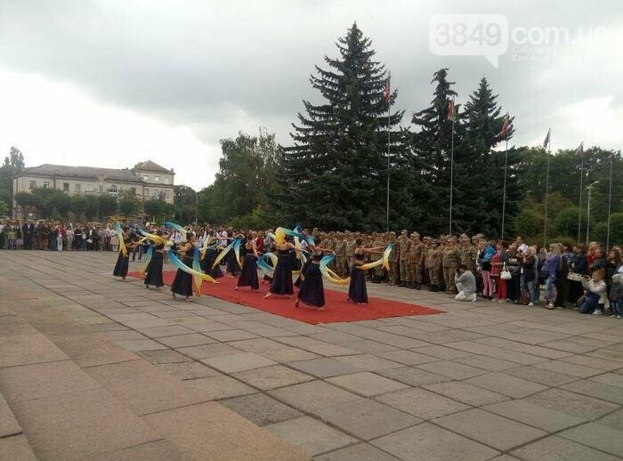 У Кам`янці відбулось урочисте святкування Дня прапора України, фото-7