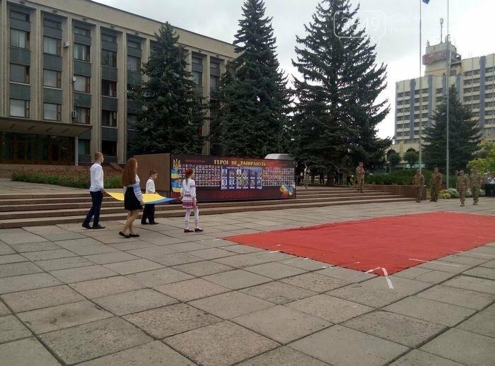 У Кам`янці відбулось урочисте святкування Дня прапора України, фото-9
