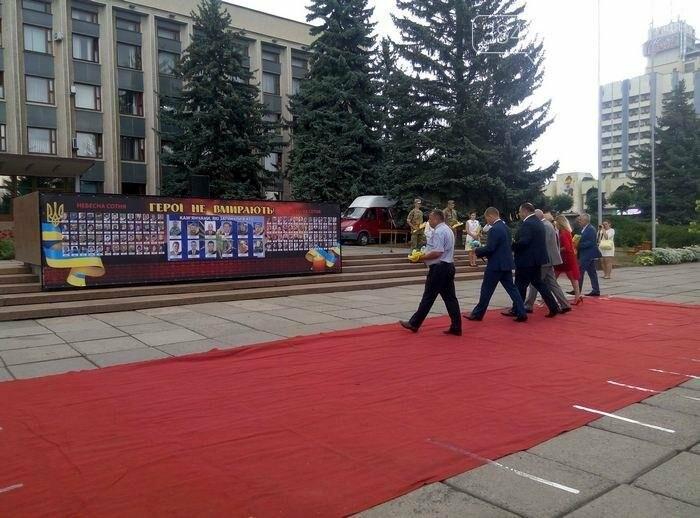 У Кам`янці відбулось урочисте святкування Дня прапора України, фото-5
