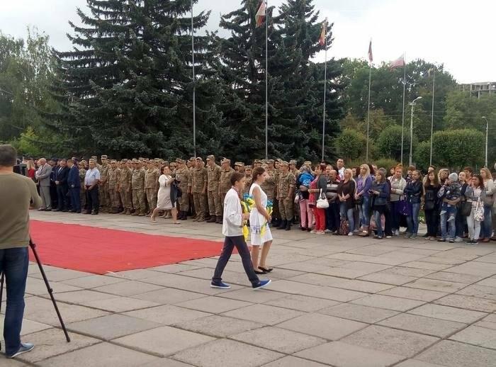 У Кам`янці відбулось урочисте святкування Дня прапора України, фото-6