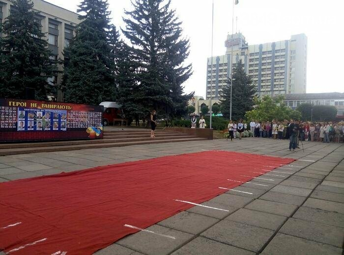 У Кам`янці відбулось урочисте святкування Дня прапора України, фото-12