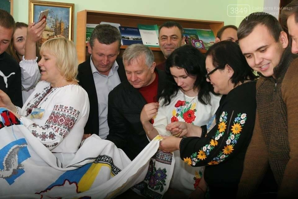 ПДАТУ долучився до акції  «Україна моя вишивана», фото-3