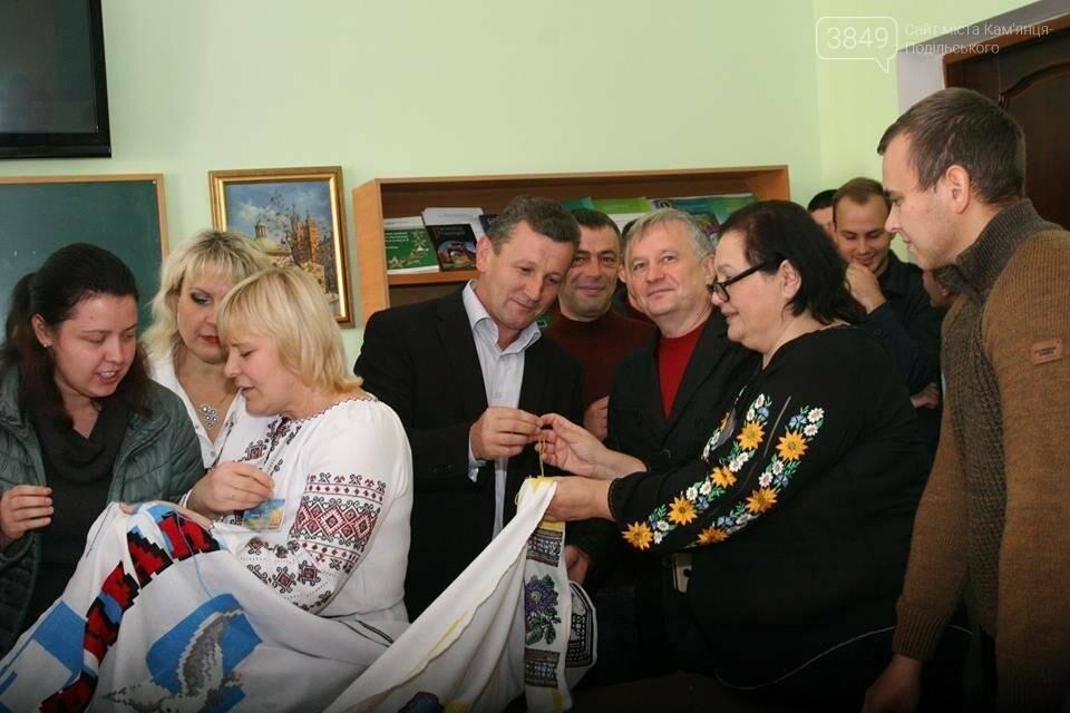 ПДАТУ долучився до акції  «Україна моя вишивана», фото-9