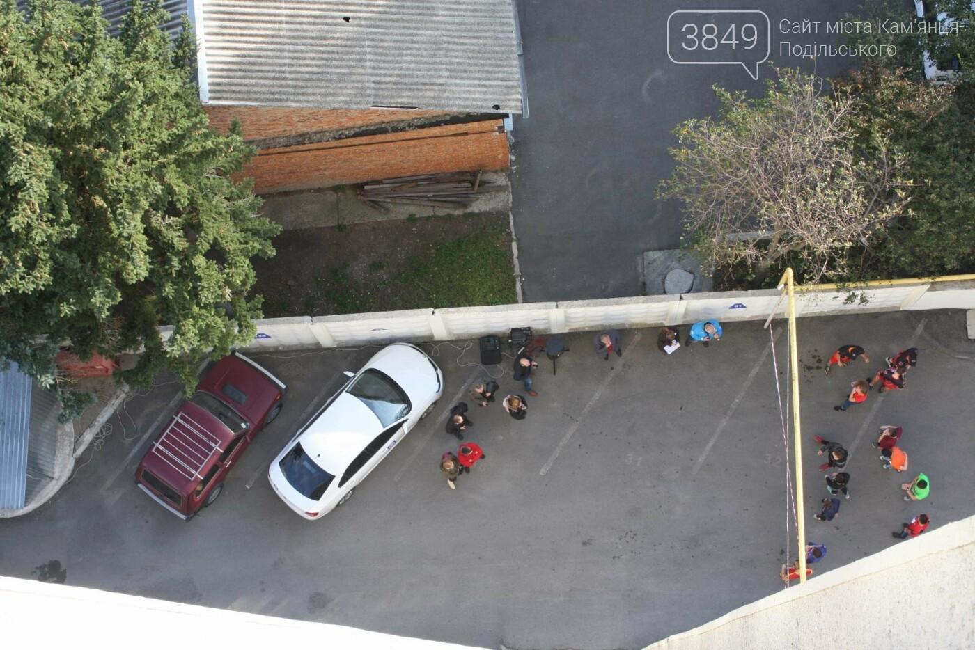 Кам'янецькі студенти підкорювали 12 поверхів, 216 сходинок найвищої будівлі міста, фото-4
