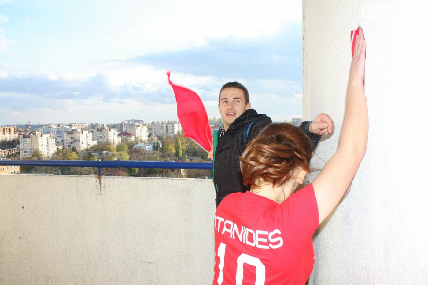 Кам'янецькі студенти підкорювали 12 поверхів, 216 сходинок найвищої будівлі міста, фото-14