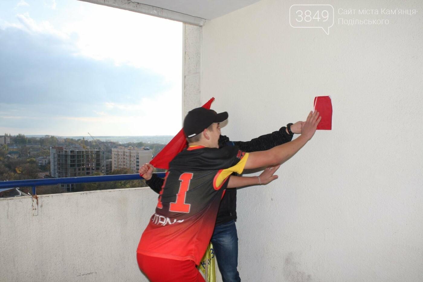 Кам'янецькі студенти підкорювали 12 поверхів, 216 сходинок найвищої будівлі міста, фото-18