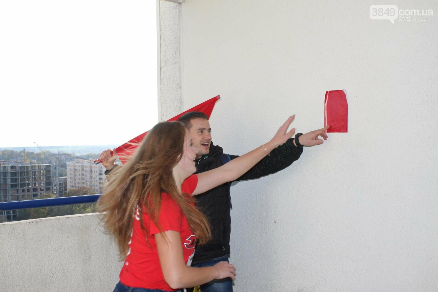 Кам'янецькі студенти підкорювали 12 поверхів, 216 сходинок найвищої будівлі міста, фото-17