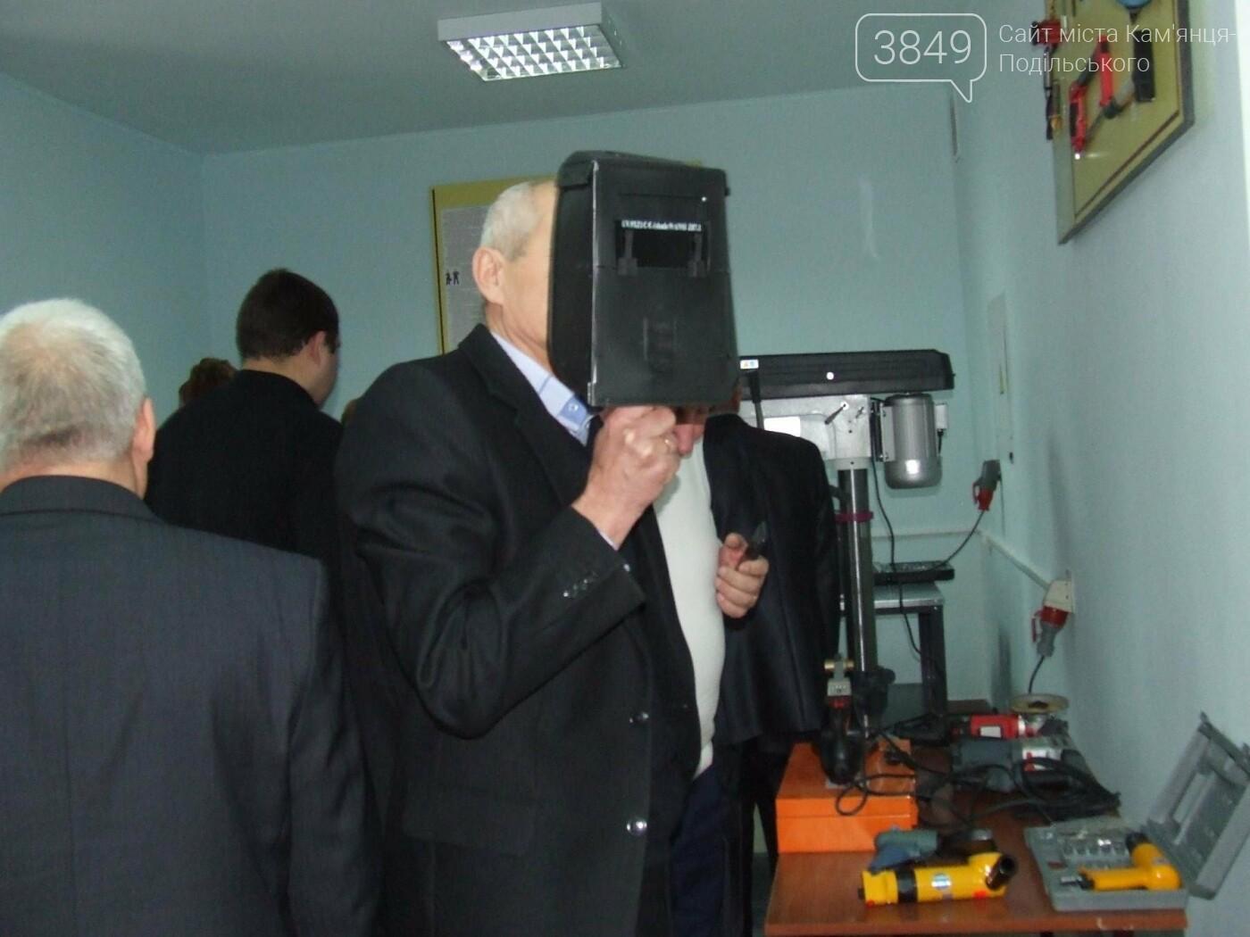 У Кам'янці відкрили навчально-практичний центр вартістю майже 600 тисяч гривень, фото-22