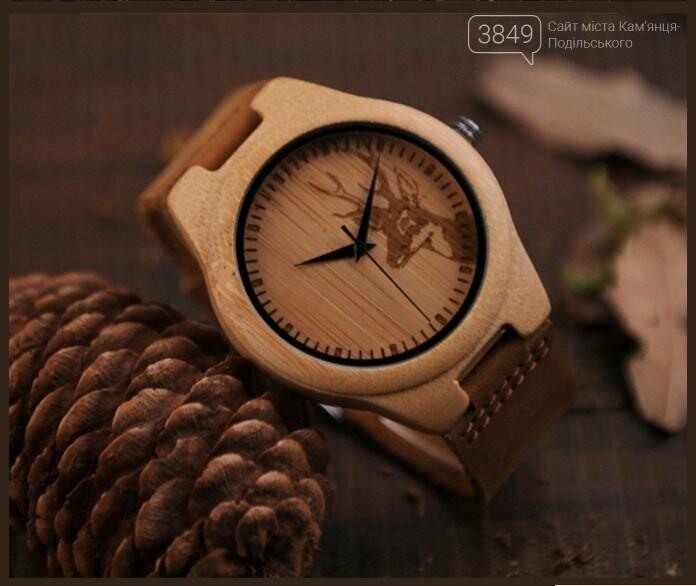 Тренд цієї осені - унікальний годинник з дерева, фото-1