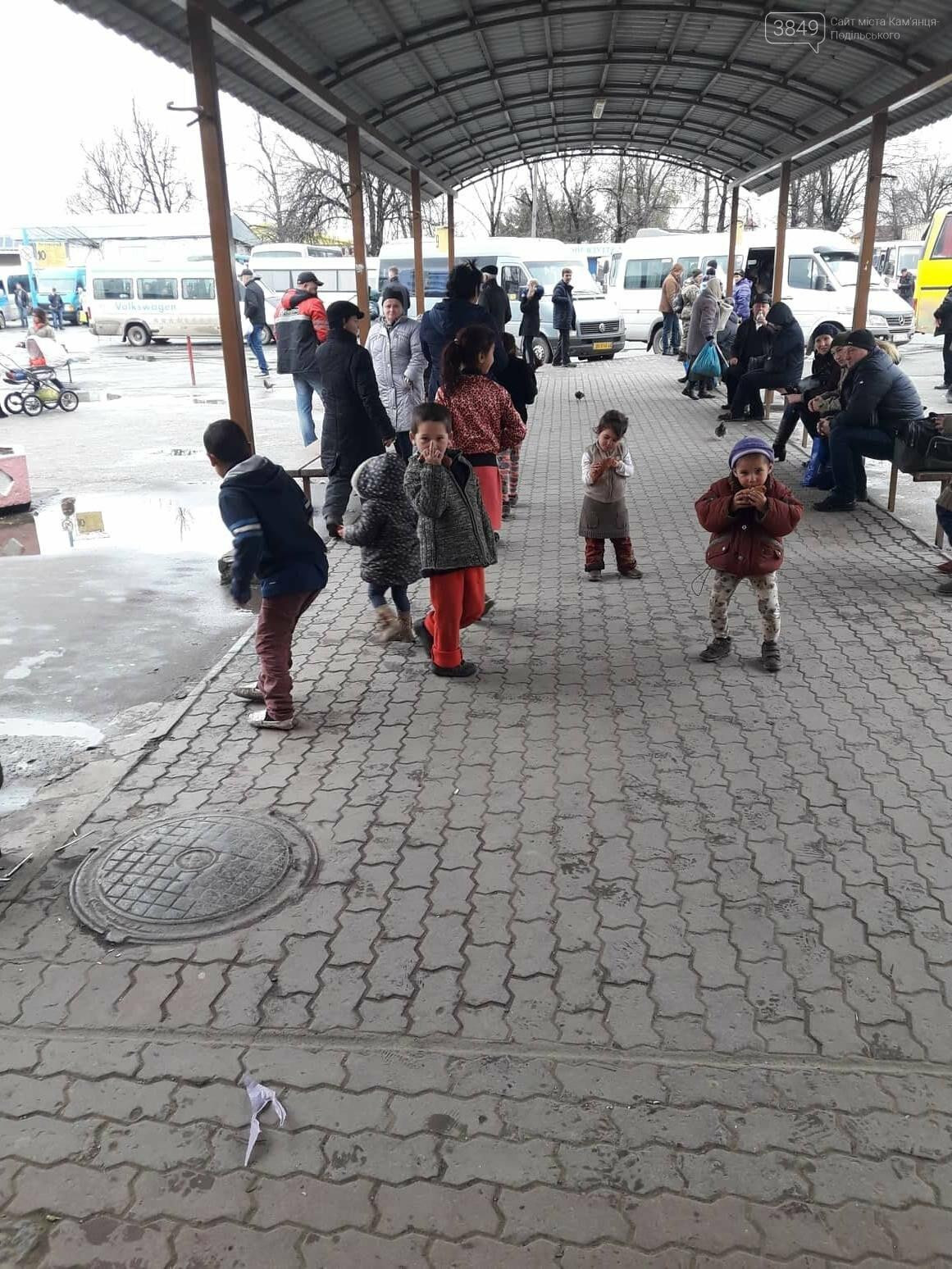 Роми на кам'янецькому автовокзалі: що каже поліція та громадськість, фото-4