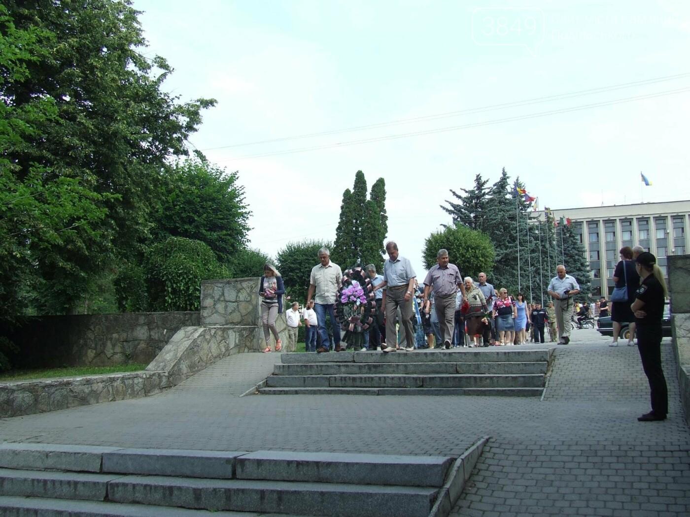 У Сквері танкістів вшанували пам'ять полеглих під час Другої світової війни, фото-1