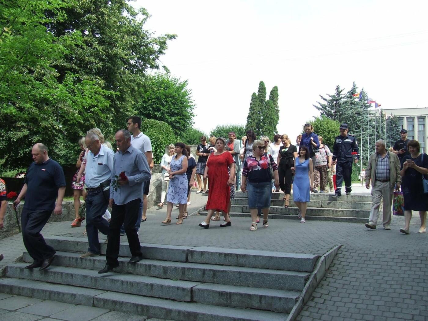 У Сквері танкістів вшанували пам'ять полеглих під час Другої світової війни, фото-3