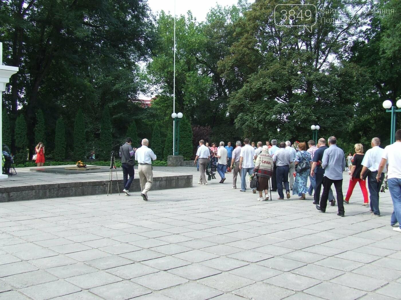 У Сквері танкістів вшанували пам'ять полеглих під час Другої світової війни, фото-4