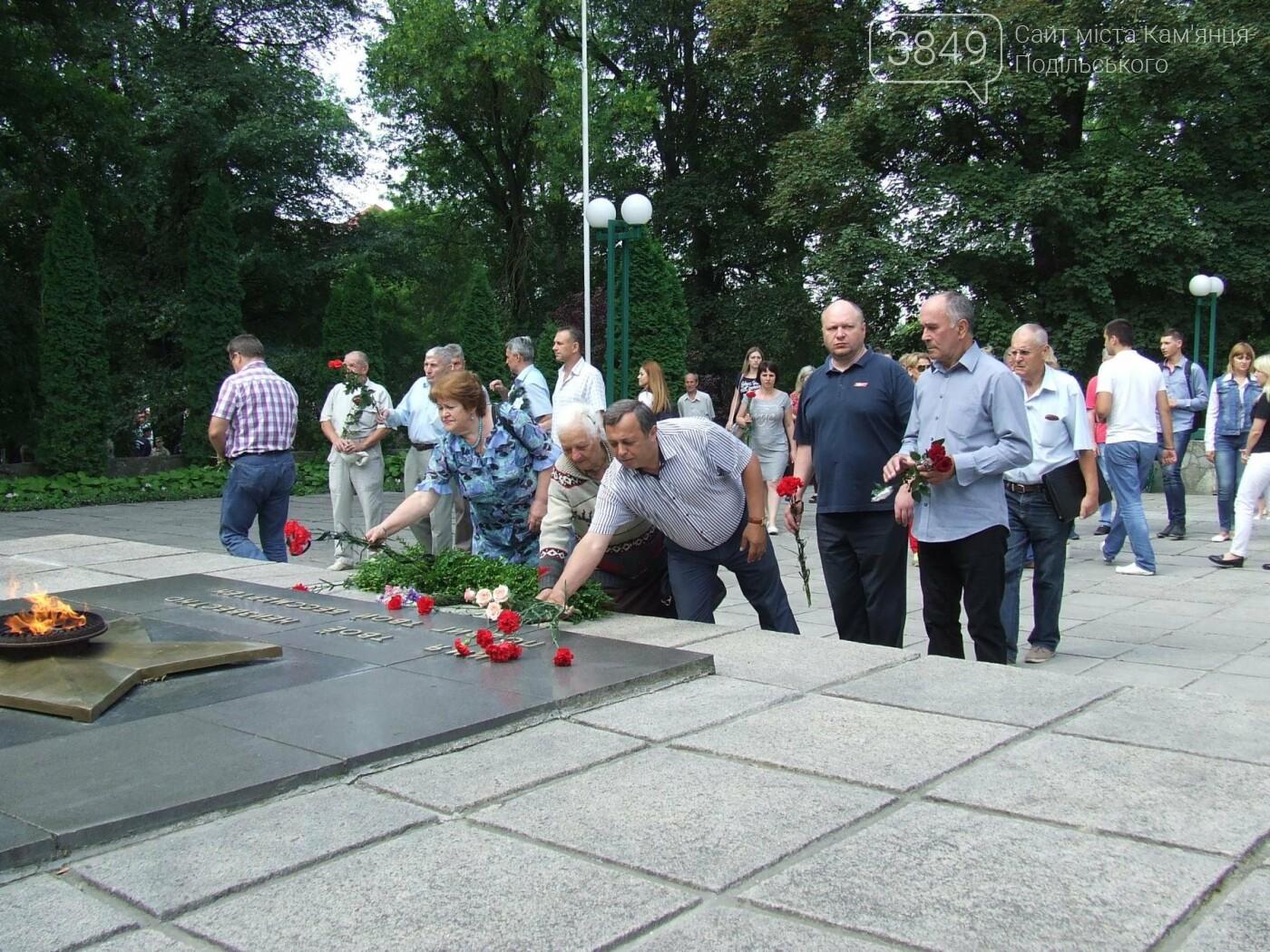 У Сквері танкістів вшанували пам'ять полеглих під час Другої світової війни, фото-5