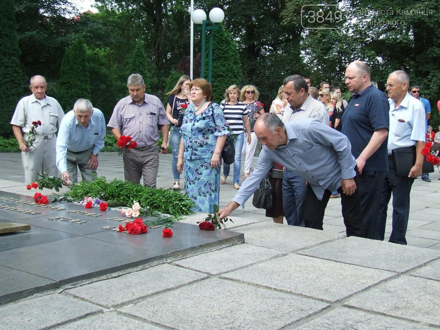 У Сквері танкістів вшанували пам'ять полеглих під час Другої світової війни, фото-10