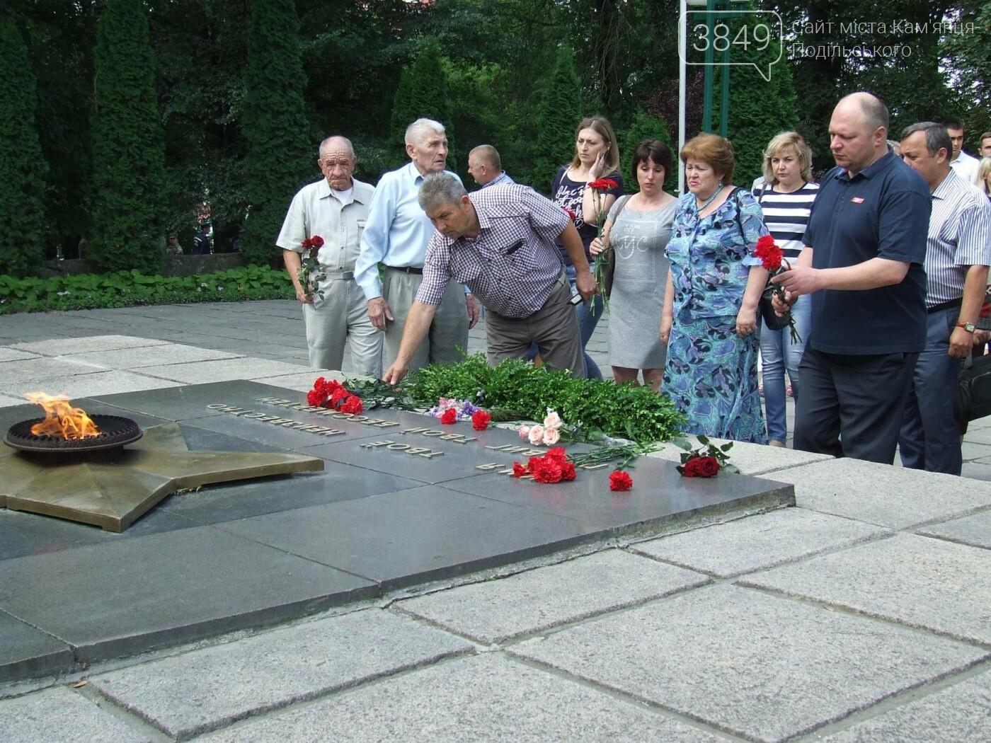 У Сквері танкістів вшанували пам'ять полеглих під час Другої світової війни, фото-11