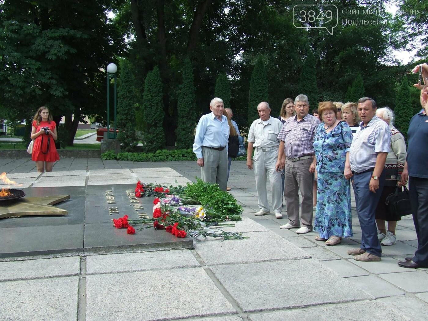 У Сквері танкістів вшанували пам'ять полеглих під час Другої світової війни, фото-15
