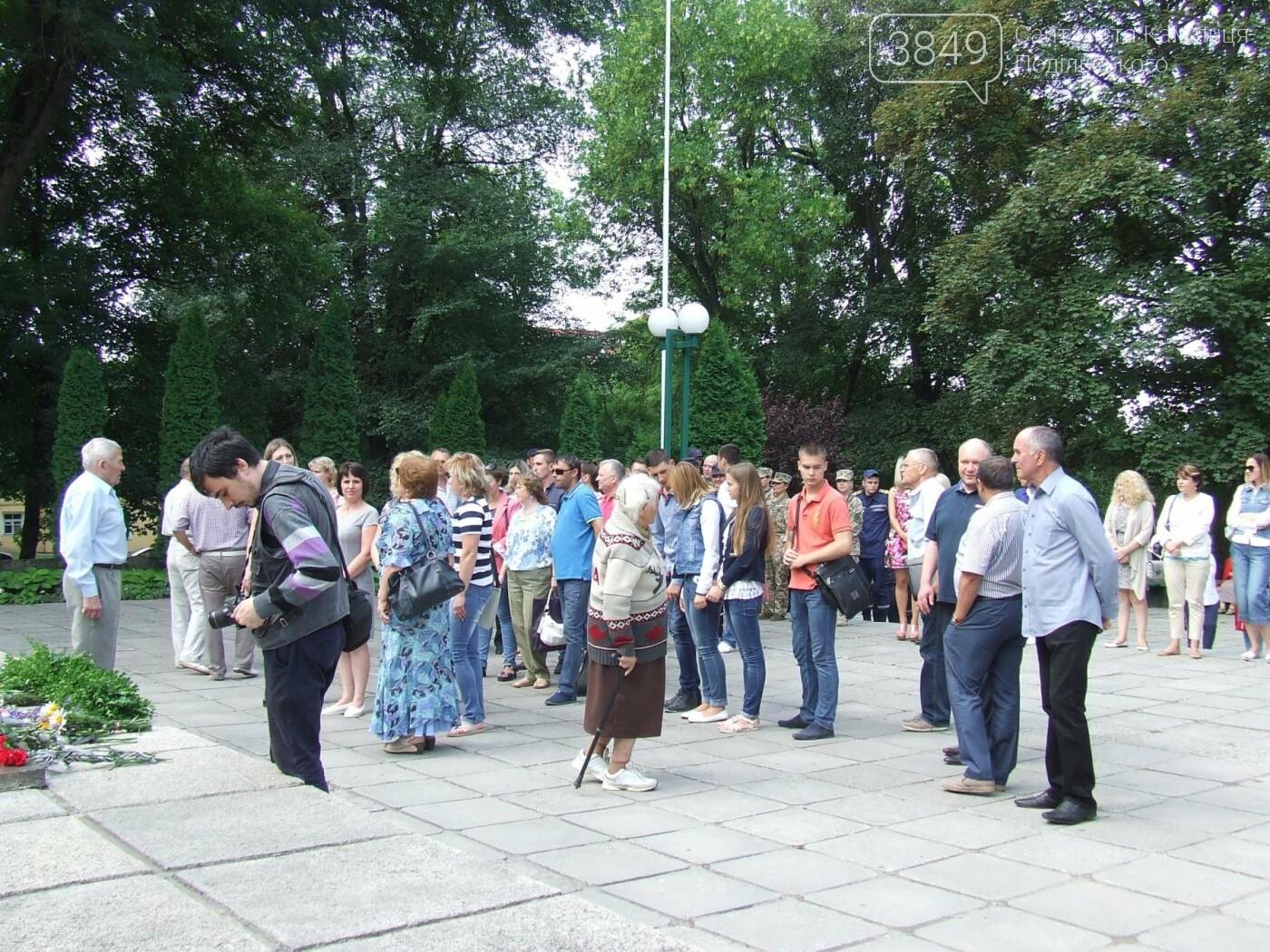У Сквері танкістів вшанували пам'ять полеглих під час Другої світової війни, фото-21