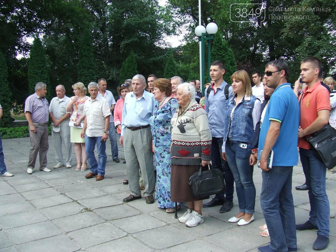У Сквері танкістів вшанували пам'ять полеглих під час Другої світової війни, фото-16