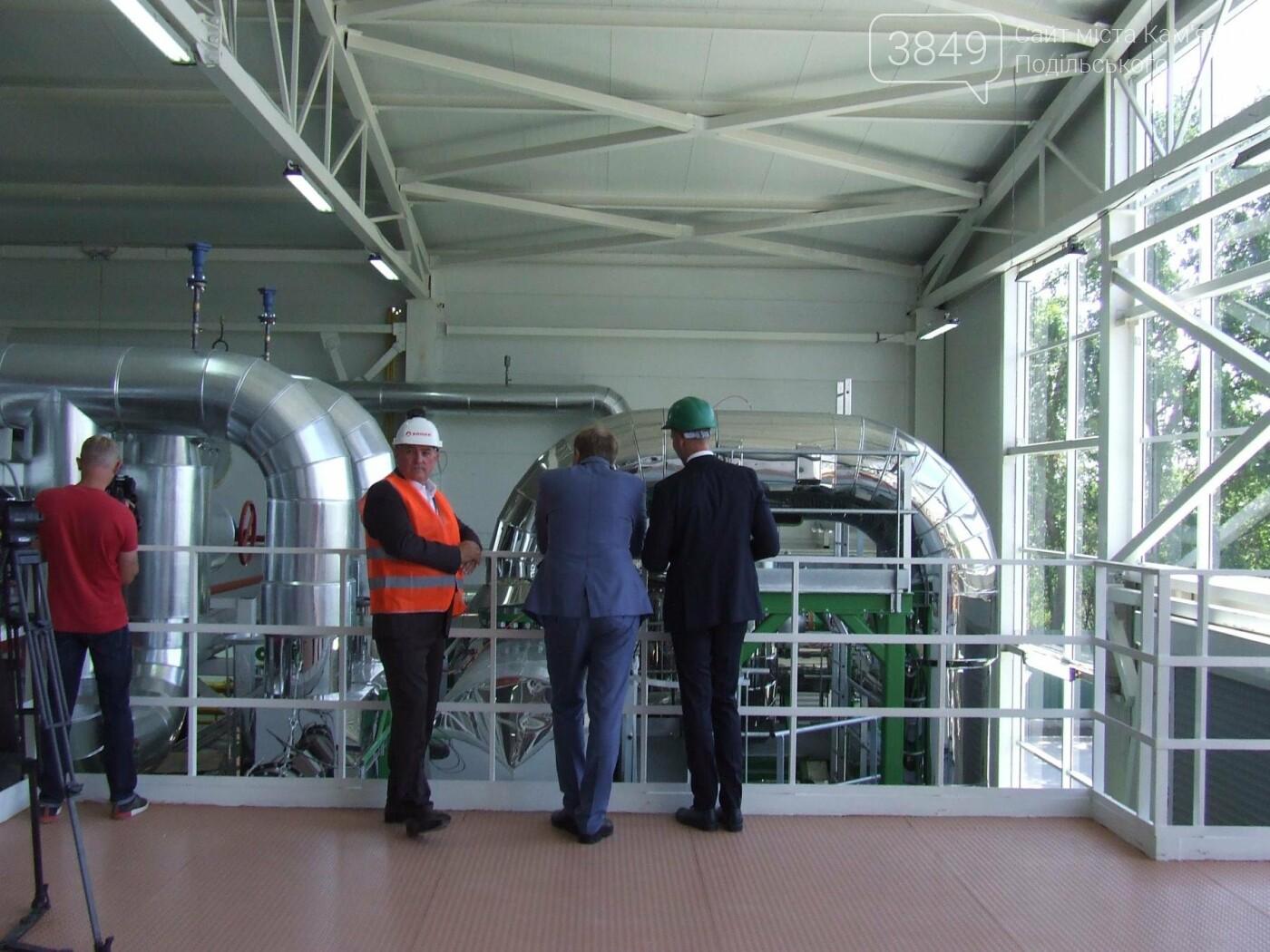 """""""Отопити, може й отопимо, та точно не заморозимо"""", або у Кам'янці відкрили новітню біо-теплоелектростанцію, фото-2"""