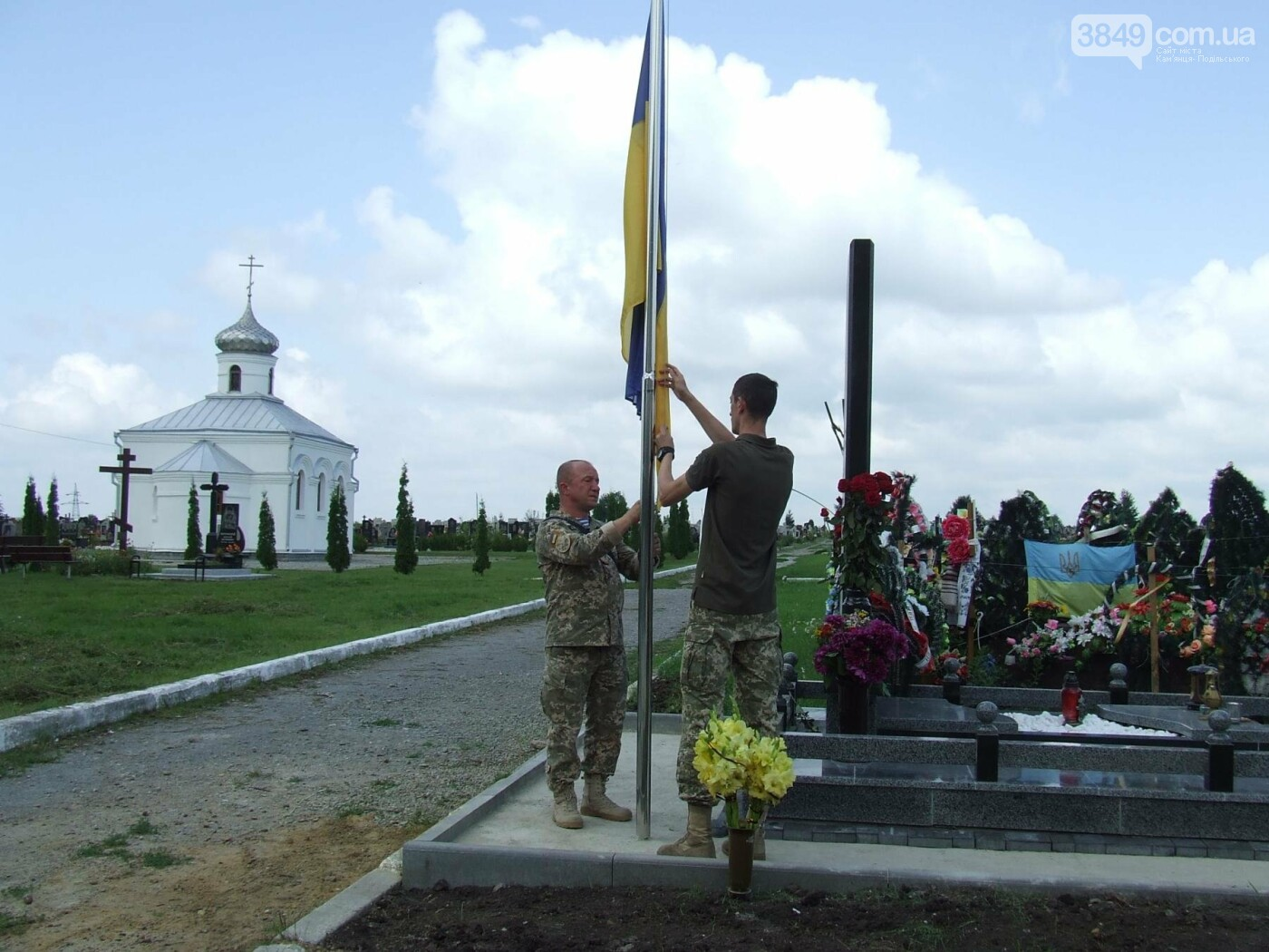 Річниця скорботи: у Кам'янці освятили меморіал Героя Ростислава Доброшинського, фото-17