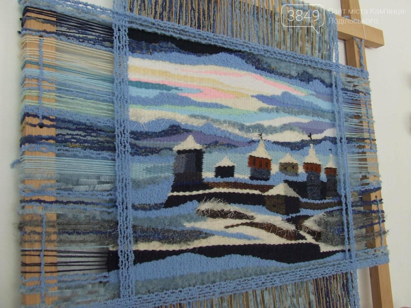 У Кам'янці відкрили виставку робіт декоративного та образотворчого мистецтва, фото-4