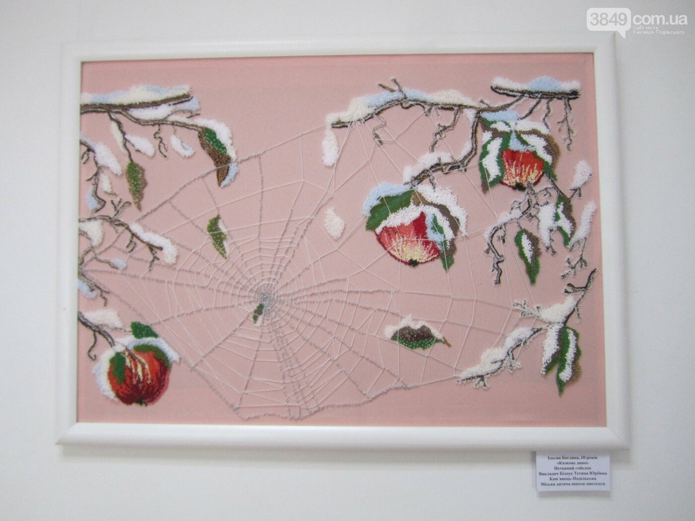 Юна Богдана Ільєва презентувала виставку гобеленів, фото-5