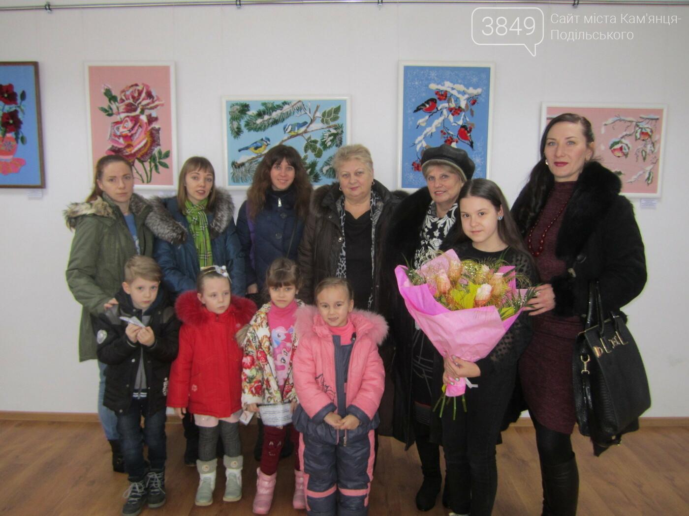 Юна Богдана Ільєва презентувала виставку гобеленів, фото-30
