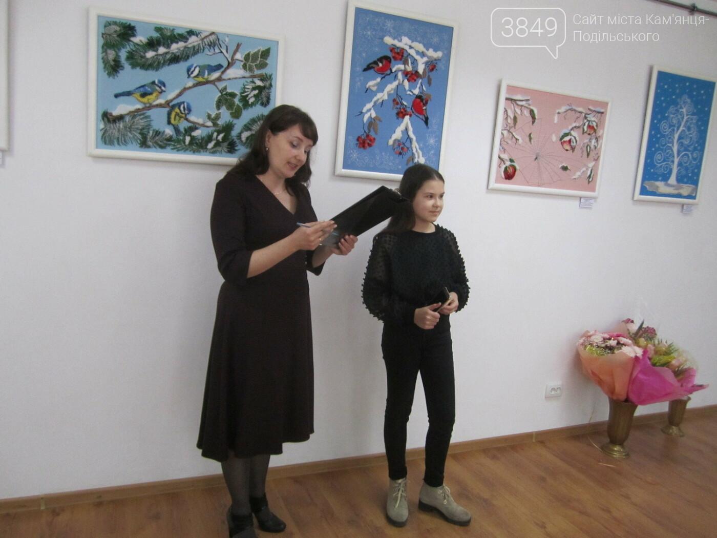 Юна Богдана Ільєва презентувала виставку гобеленів, фото-26
