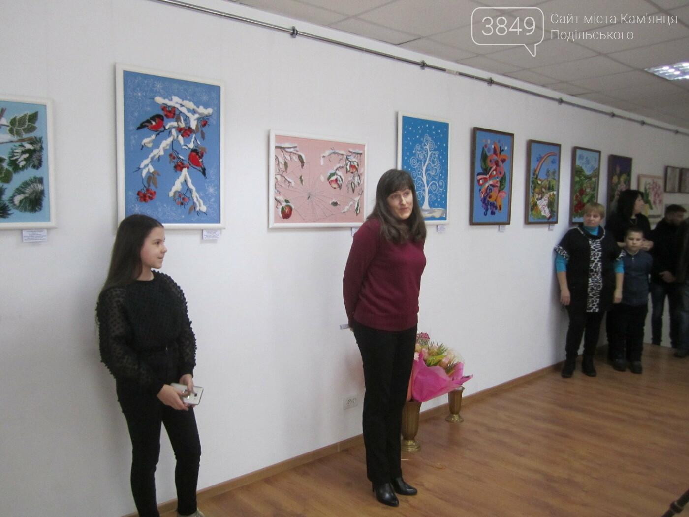 Юна Богдана Ільєва презентувала виставку гобеленів, фото-25