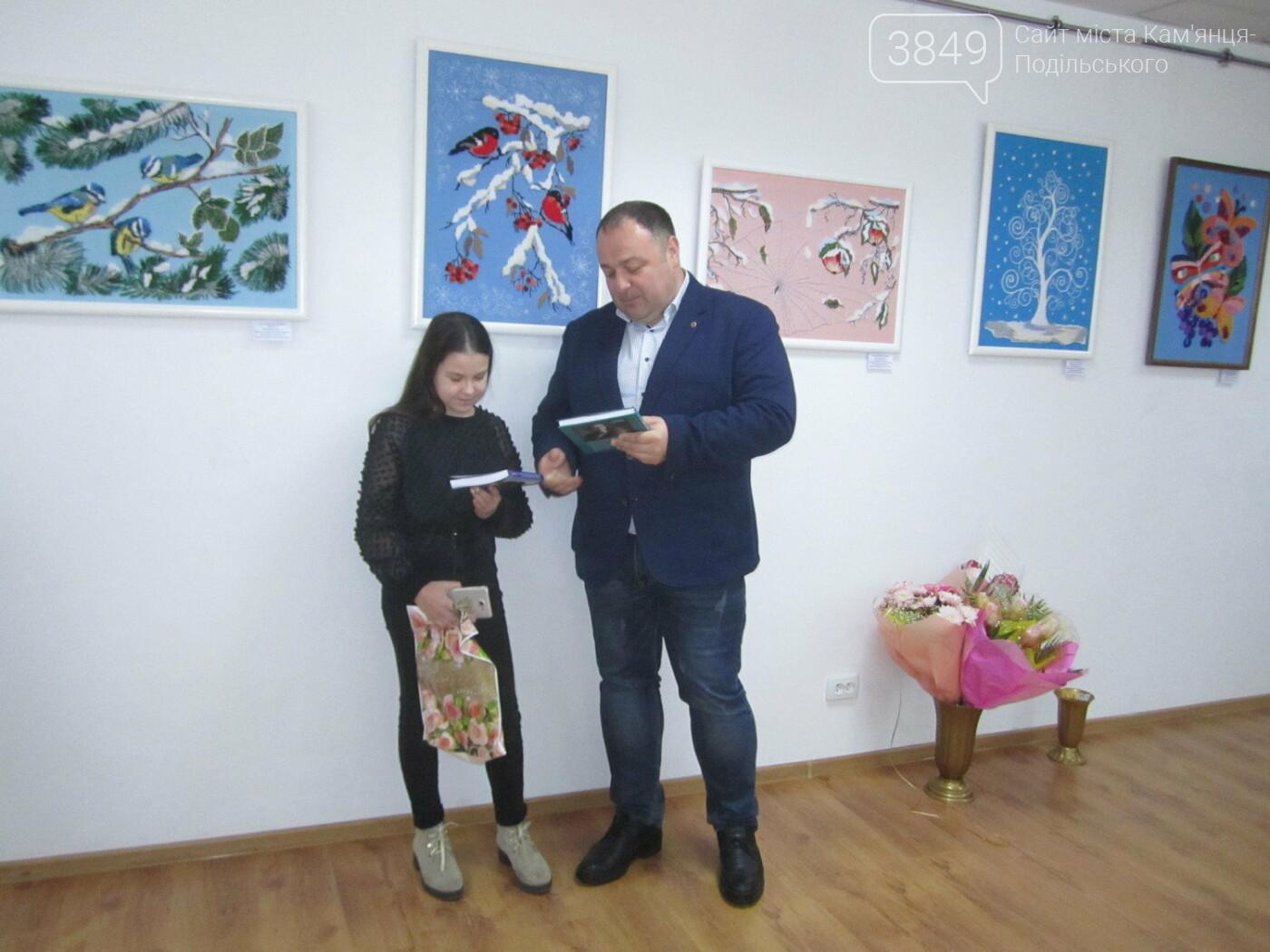 Юна Богдана Ільєва презентувала виставку гобеленів, фото-29